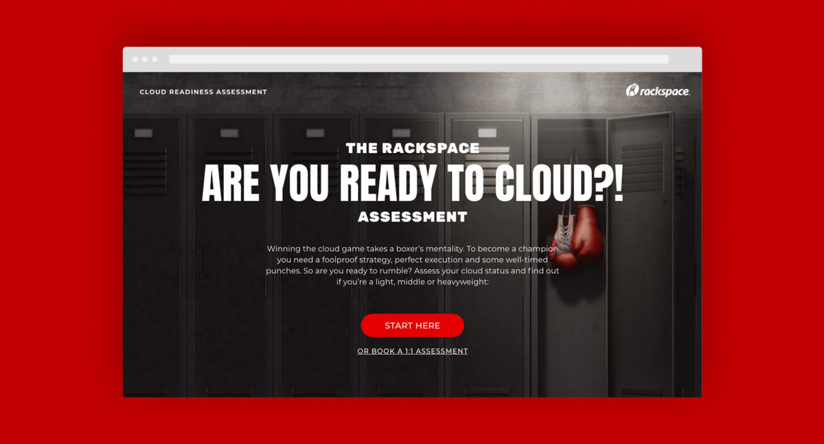 Are you ready to cloud?! - Interactive assessment tool
